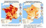 Concentration des pesticides en eaux douces